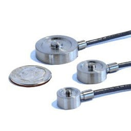 Low Profile Miniature Load Cell   Compression Button Type   Load Cell Central