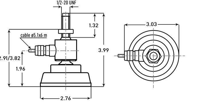 Model Sflc  Scale Foot Load Cell